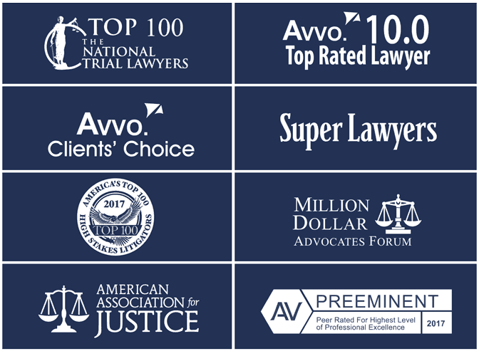 Gruber Law Offices Awards